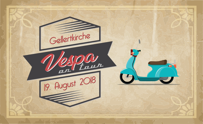 Vespa on tour